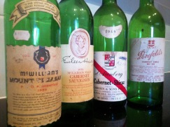 My old wine bottles