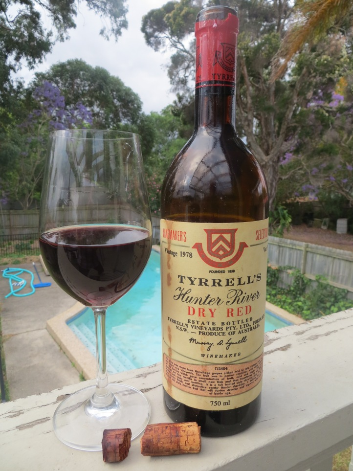 Wine Wankers Wine Blogs Best Blog Great Wine Online Tyrrells Vat 9 Shiraz 1978