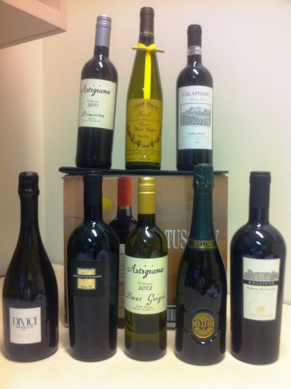 Jim's Cellars online wine sales wine wankers samples for tasting