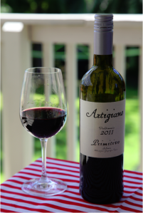wine wankers wine blog artigiano primitivo vendemmia 2011 is a brilliant italian red wine yum