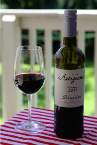 wine wankers wine blog artigiano primitivo vendemmia 2011 is a brilliant italian red wine yum