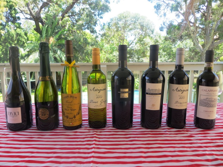 jims cellars italian wine party for the wine wankers australian wine blogs