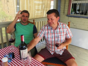 jims cellars Azienda Agricola Cos italian wine and pizza party for the wine wankers