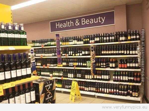 a-very-funny-pics-health-and-beauty-wine-shelves