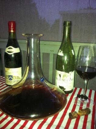 wine wankers australian wine blog Bouchard Freres Mercurey Red Burgundy 1970
