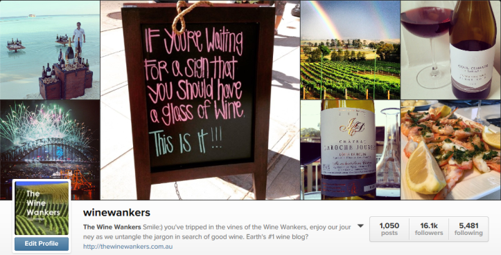 wine wankers instagram sales blog post jan