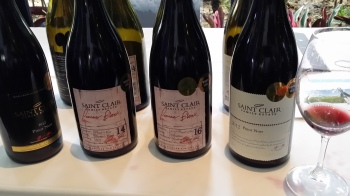 wine wankers saint clair family estate pinot range beautiful nz wine blogs