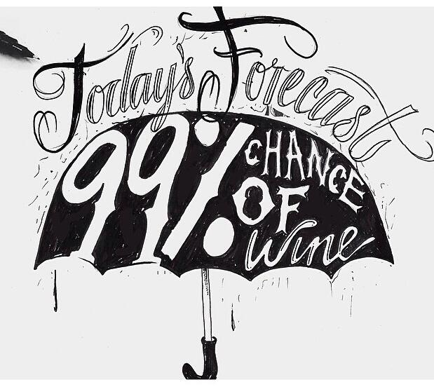 fun wine images 99 percent chance of wine