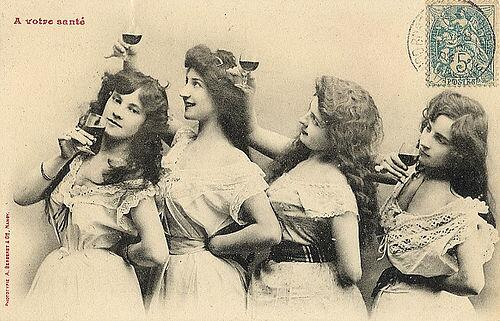 great wine images vintage ladies drinking wine