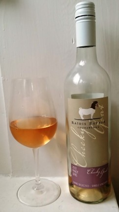 wine wankers raidis estate coonawarra cheeky goat 2012 pinot gris best wine blog