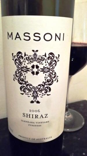 wine wankers massoni shiraz 2006 glenkara vineyard pyrenees great wine blog