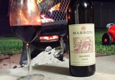 wine wankers massoni shiraz 2008 glenkara vineyard pyrenees top wine blogs