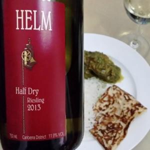 wine wankers wine blog helm half dry riesling 2013