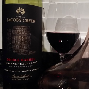 wine wankers jacobs creek double barrel cabernet sauvignon 2012