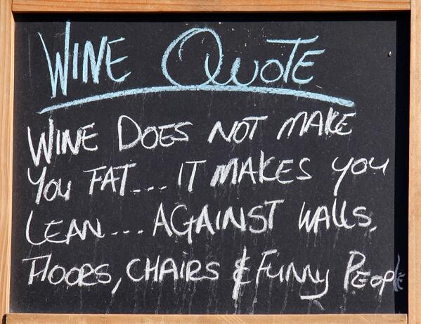 wine does not make you fat wine wankers