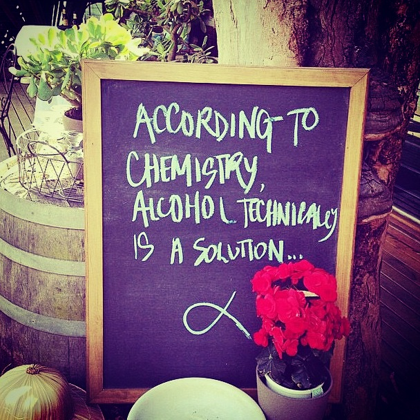 chemistry and wine