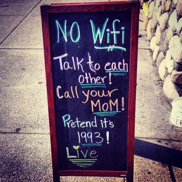 no wifi talk to each other