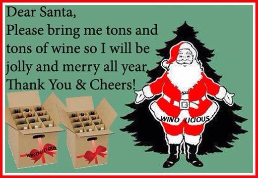 wine wankers funny christmas wine image 10