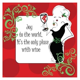 wine wankers funny christmas wine image 11