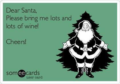wine wankers funny christmas wine image 15
