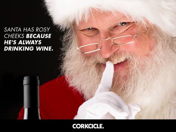 wine wankers funny christmas wine image 16