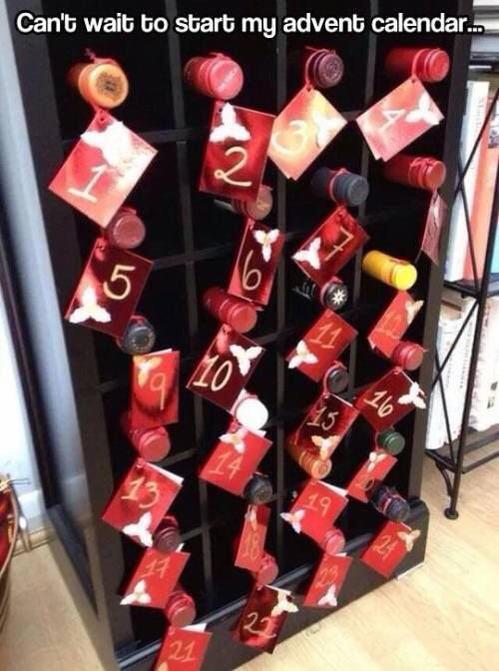 wine wankers funny christmas wine image 2