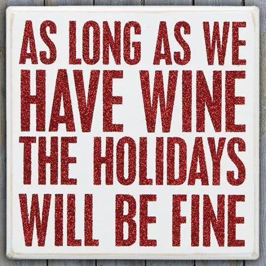 wine wankers funny christmas wine image 24