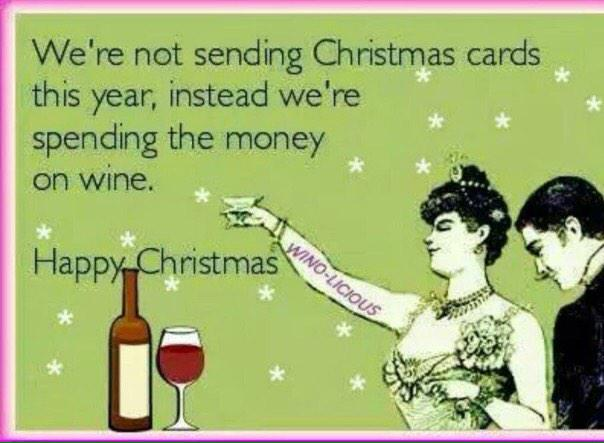 wine wankers funny christmas wine image 5