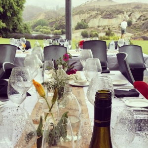 wine wankers central otago pinot celebration 2015 carrick wines lunch rain view