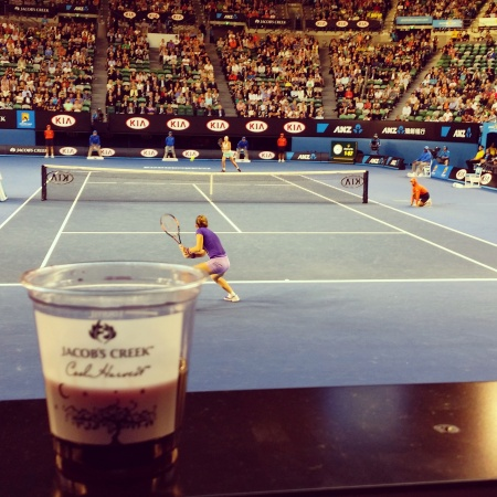 wine wankers most influential wine blogs jacobs creek australian open tennis 2015