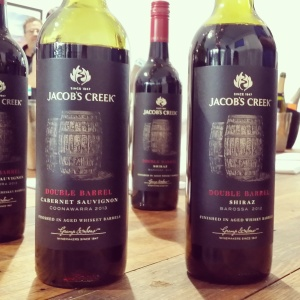 wine wankers most influential wine blogs jacobs creek double barrel cabernet and shiraz