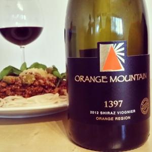 wine wankers shiraz week orange mountain 1397 shiraz viognier 2012