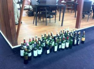 Half bottles needing a home.