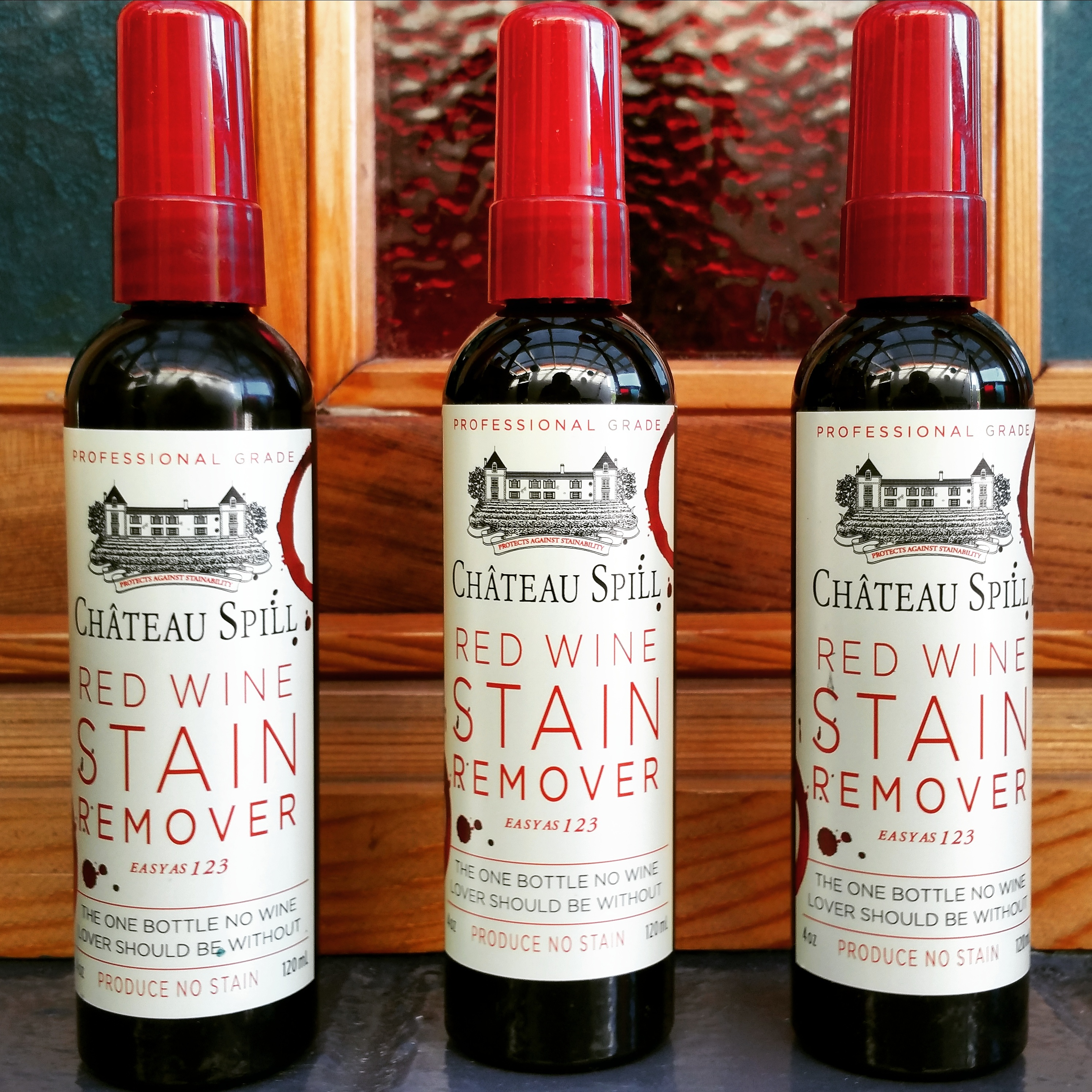 Chateau spill vs white wine for stain removal by conrad for How to remove red wine stain from cotton shirt