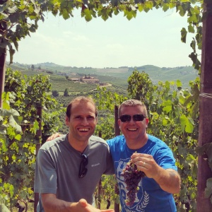 wine wankers piemonte trip francone vineyards with fabrizio