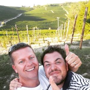 wine wankers piemonte trip piedmont conrad and nicola from trediberri barolo la morra