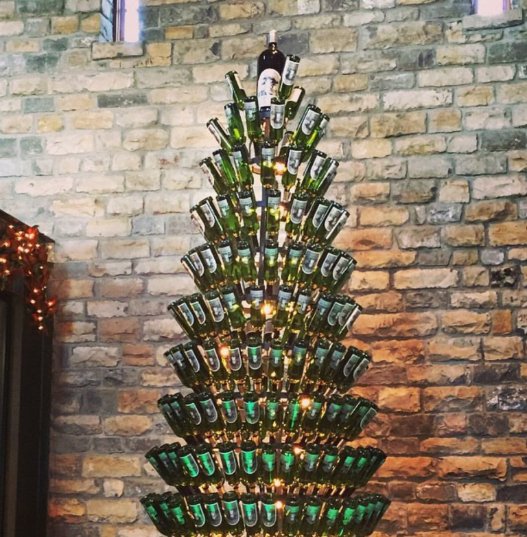 beer bottle christmas tree instructions - How To Make A Wine Bottle Christmas Tree