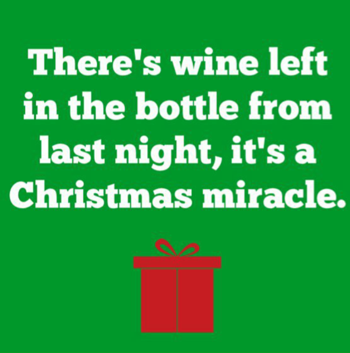 wine wankers christmas images christmas miracle