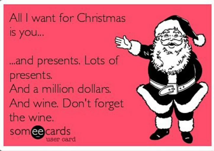 wine wankers christmas images lots of wine