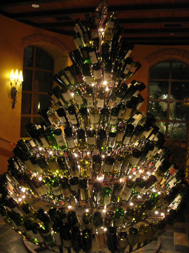 Wine Bottle Christmas Tree Diy.Wine Bottle Christmas Tree Bottle Designs