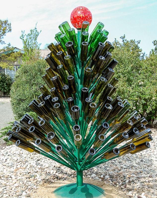 Wine Wankers Wine Bottle Christmas