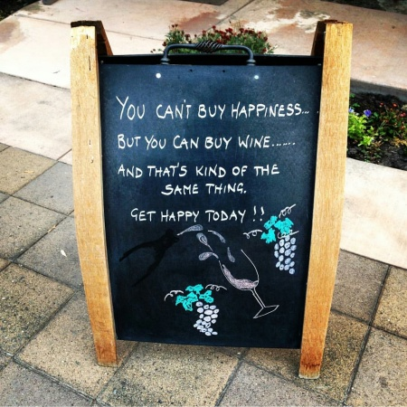 wine wankers but you can buy wine