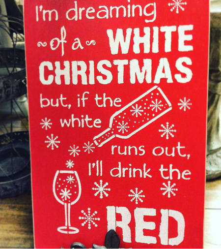 wine wankers christmas images white christmas red