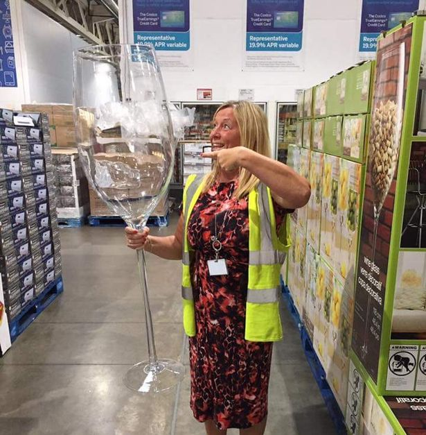 This Wine Glass Holds 25 Bottles You Wont Believe How Much It