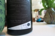 Each bottle sport Andre's finger print, and is personally hand numbered